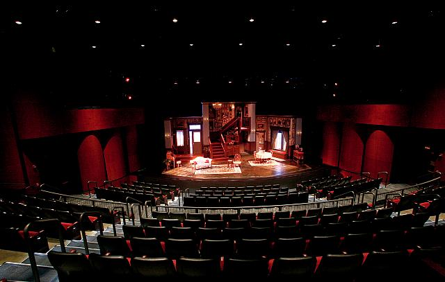 Scenic Design of ARSENIC AND OLD LACE by Patricia L. Frank