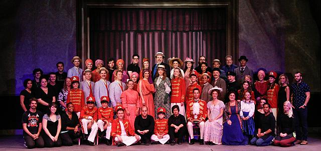 Cast and Crew of THE MUSIC MAN